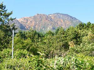恵山 麓の恵山温泉近辺からの眺望