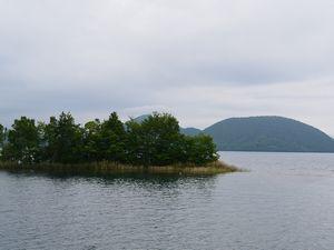 洞爺湖と島