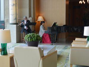 フルートとピアノ 演奏