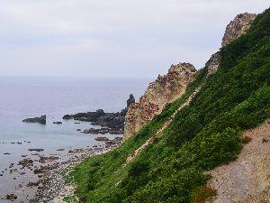 島武居海岸 積丹岬