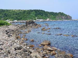 積丹海岸 シャコタンブルーの海