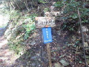 熊野古道 大泰寺まで約4.5km