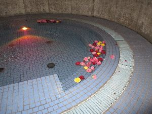 すさみ温泉 バラの花