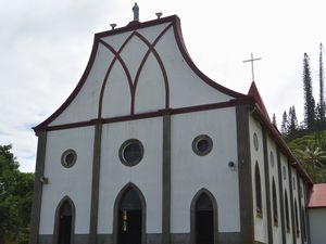 カトリック教会 南洋杉