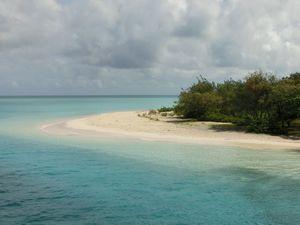 砂浜と青い海