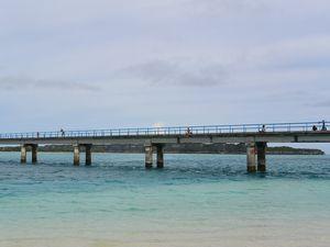 ムリ橋 ムリ ビーチから撮った