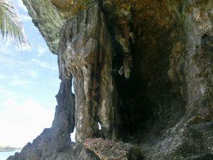 ここの岩の部分に上がって写真を撮った